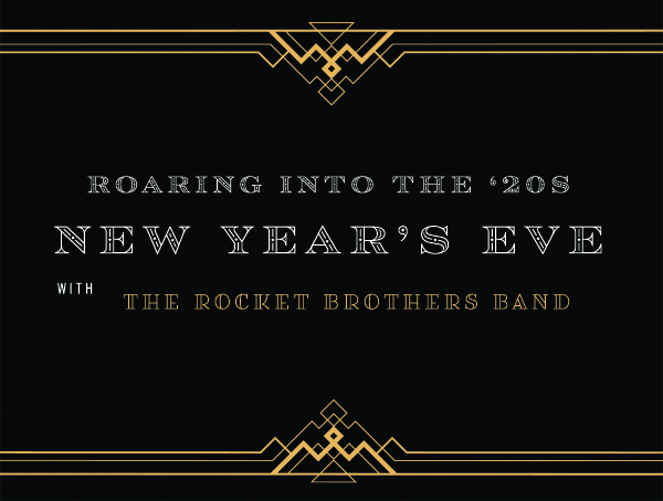 Roaring into the '20s New Year's Eve