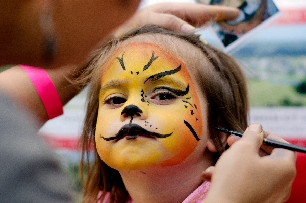 Face Painters, Balloon Artists, and Giant Inflatable on Live Oak Lawn
