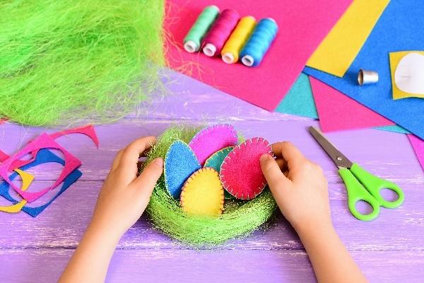 Easter Basket Decorating