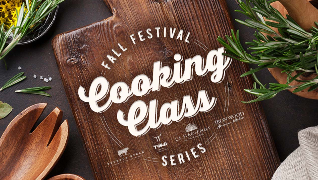 Fall Festival Cooking Class Series