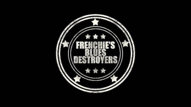 Frenchie's Blues Destroyers Logo