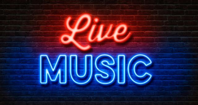 Live Music Graphic