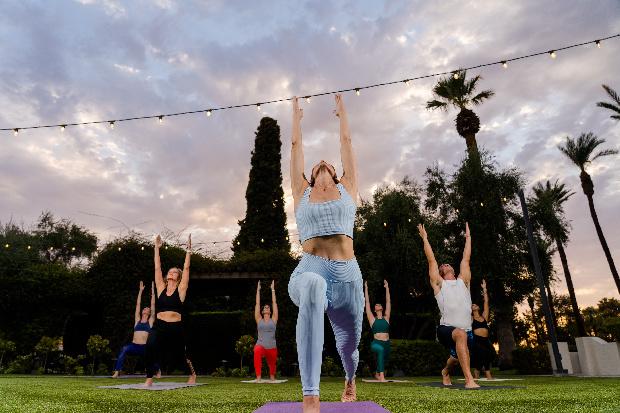 Sunset Yoga & Guided Meditation
